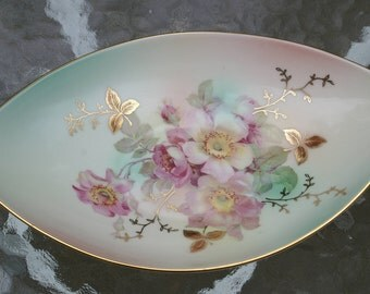 Schumann Arzberg Germany Candy Dish-Wild Rose