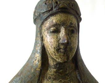 Stunning Antique Philippine Wooden Saint