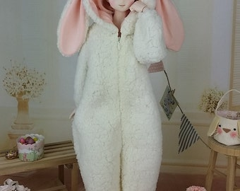 1/3 BJD SD  Dollfie Dream Bunny Onesie