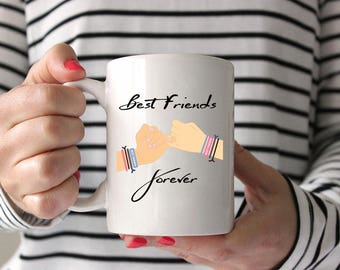 Best Friends Forever Coffee Mug,Funny Coffee Cup,Funny Coffee Mug,Friendship Mug,Best Friend Gift,BFF Coffee Mug,Best Friends Coffee Mug