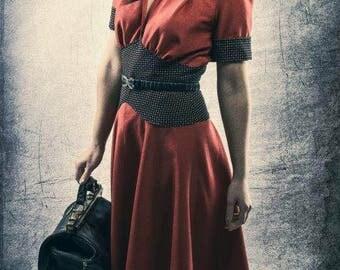 40.Jahre dress after original cut