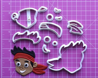 Izzy Jake And The Neverland Fondant Cutter