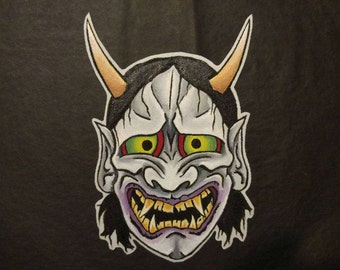 Hannya Patch (hand painted) Patch