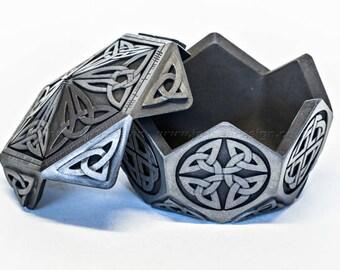 Small Hexagon Celtic Treasure Box