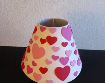 Lamp shade table lamp