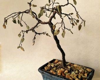Fall wire bonsai