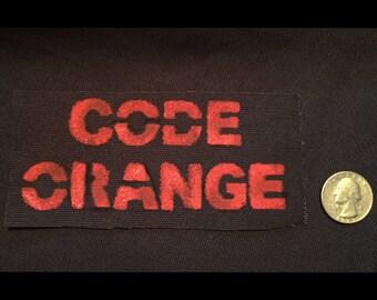 Code Orange Patch