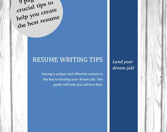 professional resume writing guide how to write a resume tutorial resume guidelines pdf
