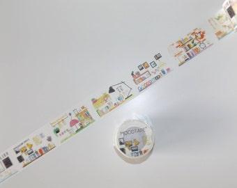 1m mood tape desk Washitape Maskingtape
