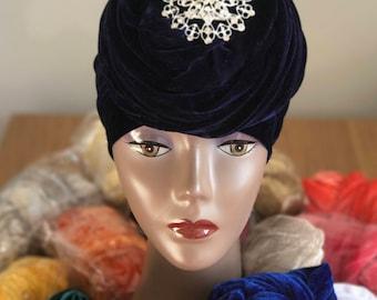Double Wrap Easy to Wear Turban