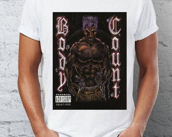 BODY COUNT - hardcore punk - t-shirt