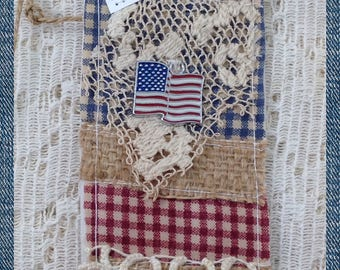 USA Prayer Pocket Bookmark