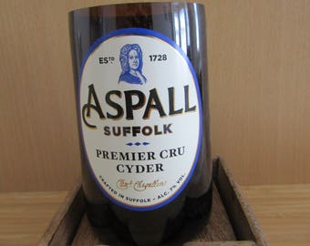 Aspall Cider Beer Bottle Soy Wax Candle Filled to Order