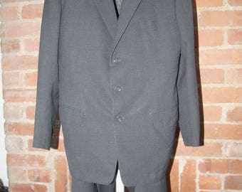 Vintage men's wool suit