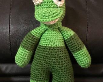 Crochet, Frog, Baby, Handmade