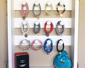 Bracelet Holder, Jewelry Organizer, Wall Mounted Bracelet Storage, Jewelry Display, Necklace Hanger