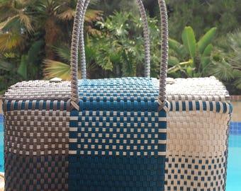 Handmade Beach / Travel Tote Bag