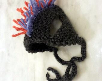 Punk Rock Mohawk Hat for Cat