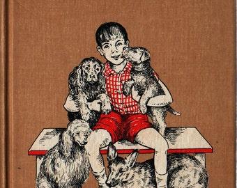 Eddie the Dog Holder - Carolyn Haywood - 1966 - Vintage Kids Book