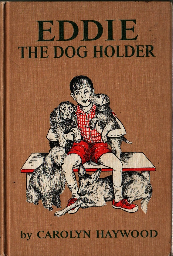 Eddie el perro soporte  Carolyn Haywood  1966  por HazelCatkins