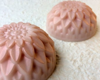 Blushing Chrysanthemum Soaps - Set of 2 boxed soaps