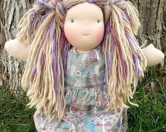 Sewfunky Waldorf Inspired Natural Art Doll