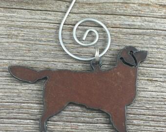 Golden Retriever Christmas Ornament, Golden Retriever Ornament, Dog Christmas Ornament, Dog Ornament, Gift for Dog Lover, Dog Gift