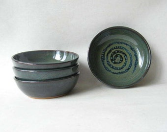 Pottery Soup Bowls Set of 4