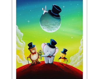 Animals & Whimsy Limited Edition - The Magicians - Signed 8x10 Semi Gloss Print (2/10)