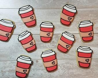 Latte Sugar Cookies - 1 Dozen