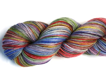 Daydream--hand dyed sock yarn, merino and nylon, (463yds/100gm)