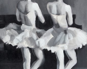 Ballet Music / ORIGINAL PAINTING on canvas
