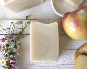 Honey Apple Soap, Skin Care, Artisan Soap, Cold Process Soap, Handmade Soap