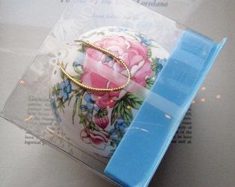 Vintage Pomander * 1970's Scented Pom * Globe Shape Botanical Pom * Du Cair Gifts * retro Mother's Day Gift