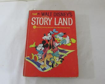 Disney Story Land Golden Book with 55 Stories