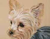 Yorkshire Terrier 5x5.75 Inch Print