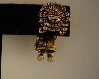Vintage Kachina Doll 3D EARlusion earrings