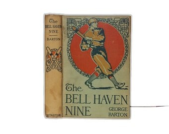 Hollow Book Safe The Bell Haven Nine Baseball Team book safe compartment Wisdom Character Truth Beauty Imagination