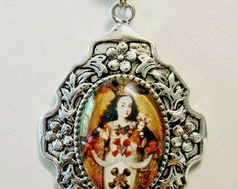 The Virgin of Pomata pendant - AP26-184