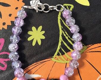 Skull Love~Bracelet~Beads, Roses and Skulls!!