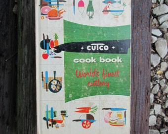 Vintage Cookbook Cutco Knives 1961 World's Finest Cutlery Hardcover