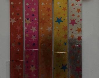 Lucky Star Folding Paper - B