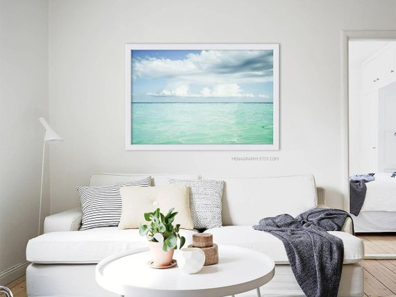 Large Scale Print Living Room Art Ocean Beach Photography