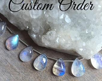 Custom Order for ricky2525, Labradorite Single Strand Skinny Bracelet, Sterling Silver Accent Beads, Gemstone Jewelry