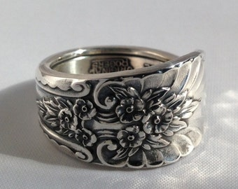 Spoon Ring Rivera Revisited 1954 Size 5 to 15 Choose Your Size Vintage Silveplate