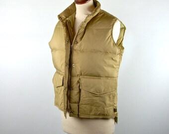 Goose Down Woolrich Vest, Heritage Vest