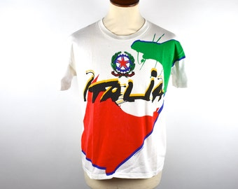 ITALIA 1994 World Cup T-Shirt, Italian Futbol