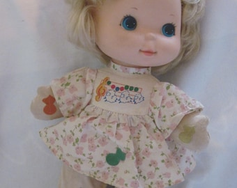 Blonde Mattel Love Notes Doll, Mary Had a Little Lamb, 1974