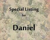 SPECIAL LISTING for DANIEL   Brown Bead Tassel Trim  Onion Tassel Fringe - Red Green Gold Ball
