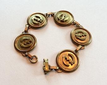Adinkra Gye Nyame Disc Bracelet